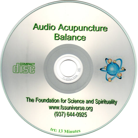 balance energy audio CD