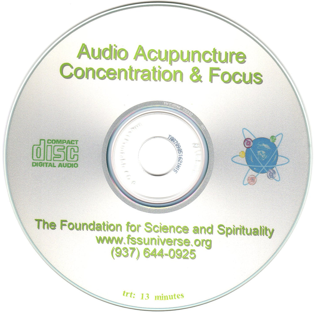 concentration and focus energy audio CD