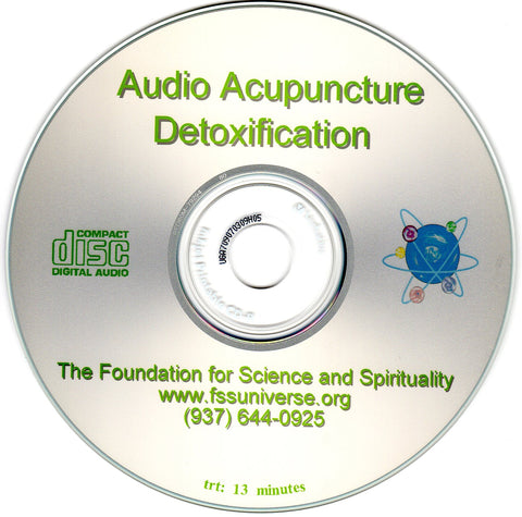 detoxification energy audio CD