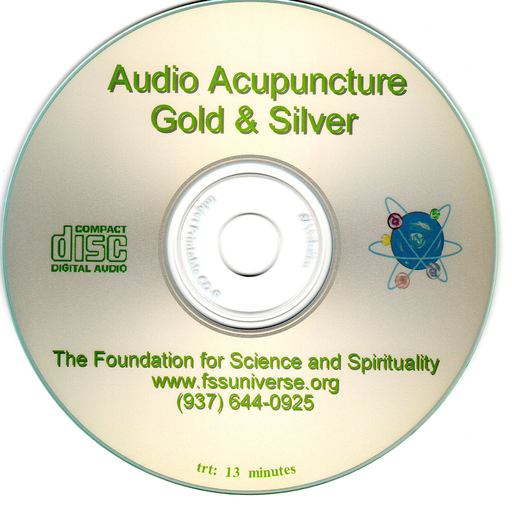 gold and silver energy audio CD