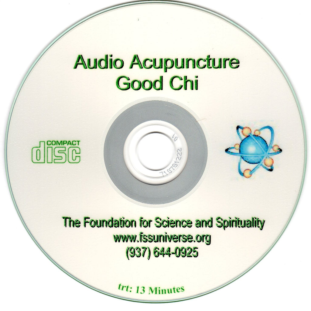 good chi energy audio CD