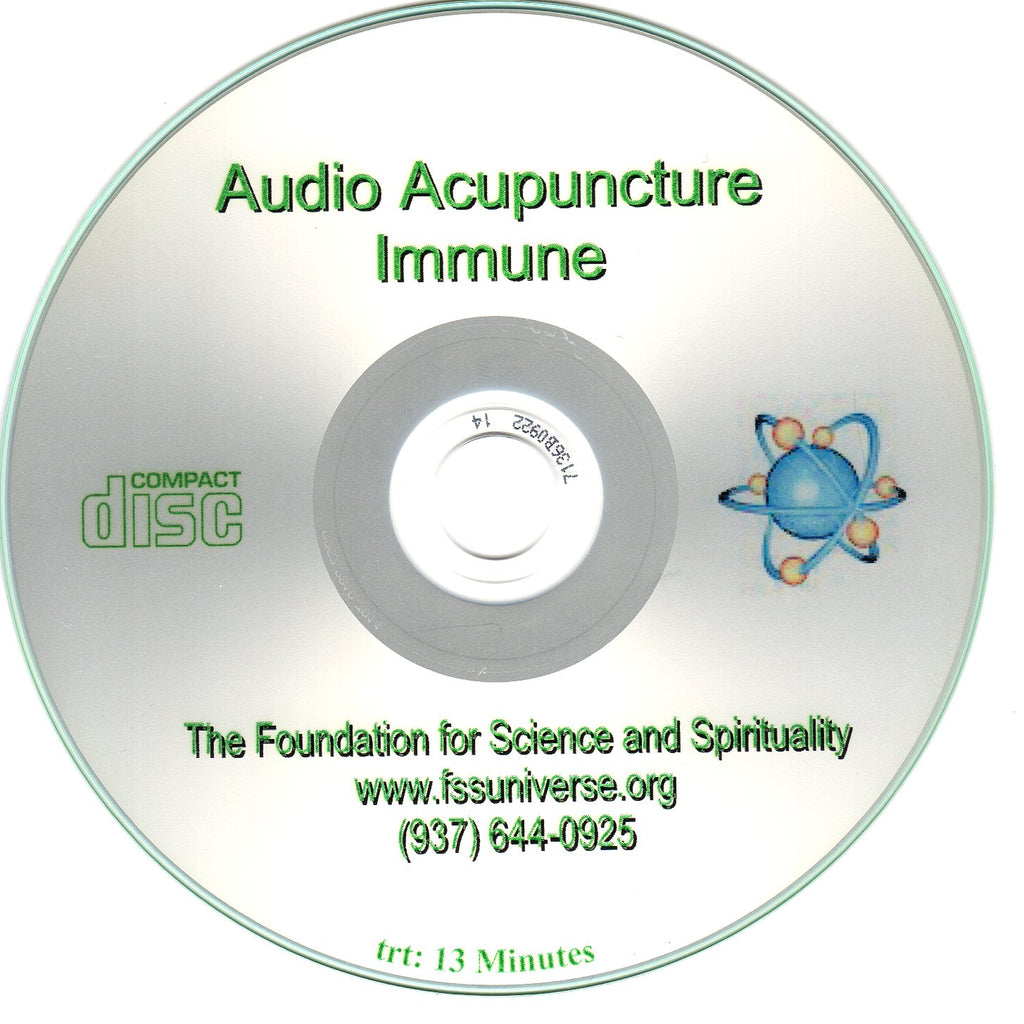 immune energy audio CD