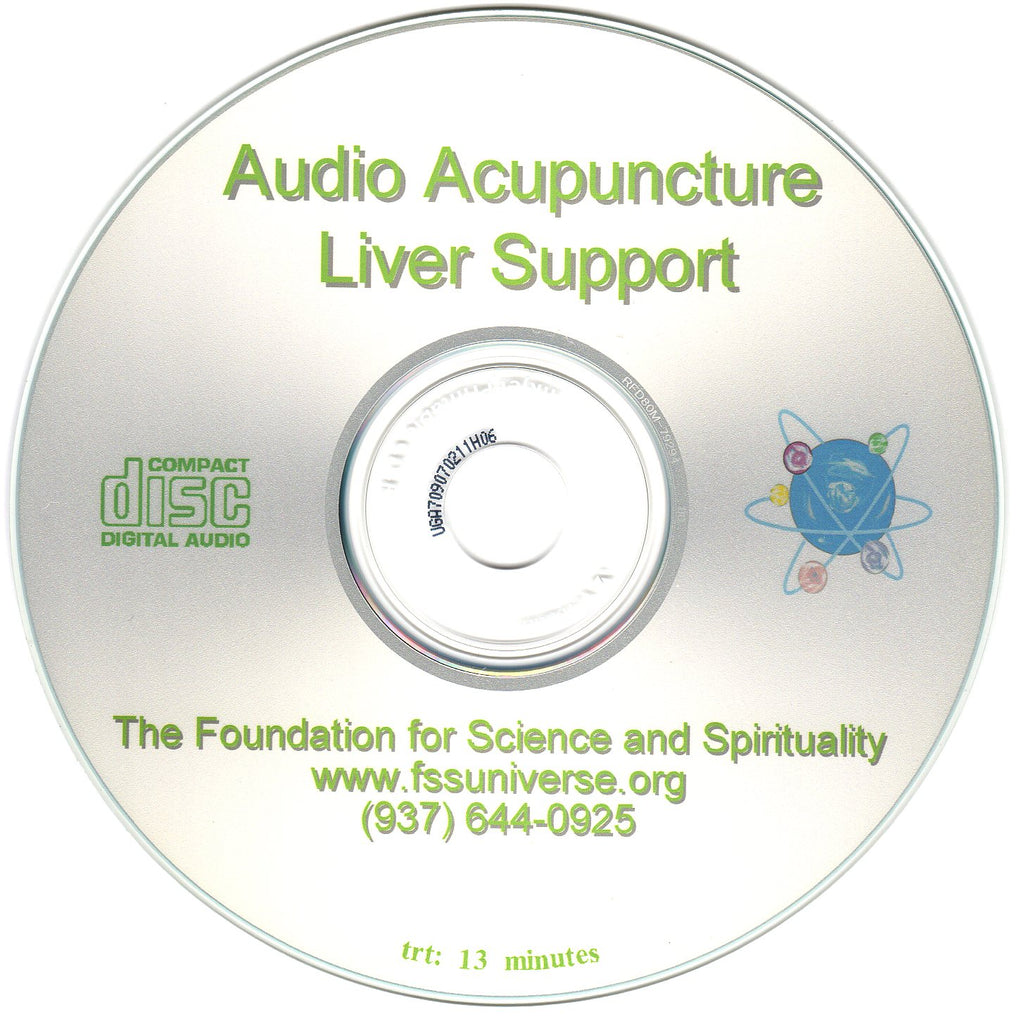 liver support energy audio CD