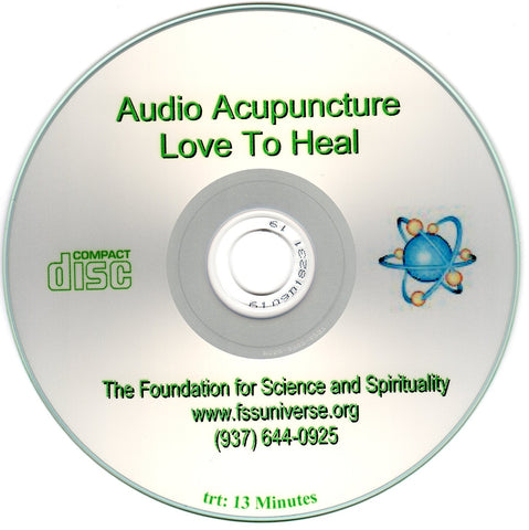 love to heal energy audio CD