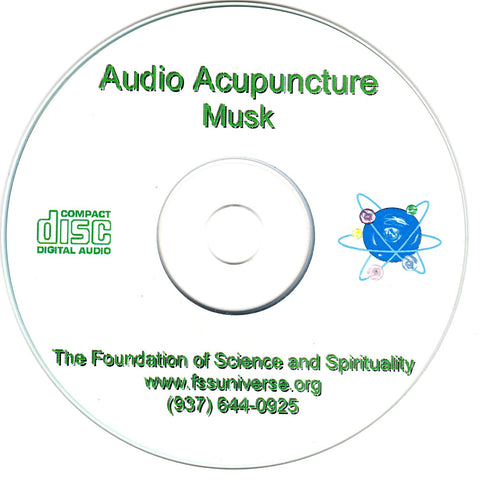 musk energy audio CD
