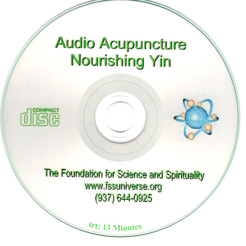 nourishing yin energy audio CD