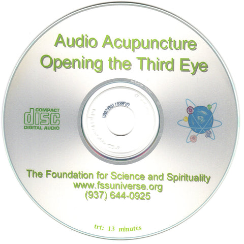opening the third eye energy audio CD