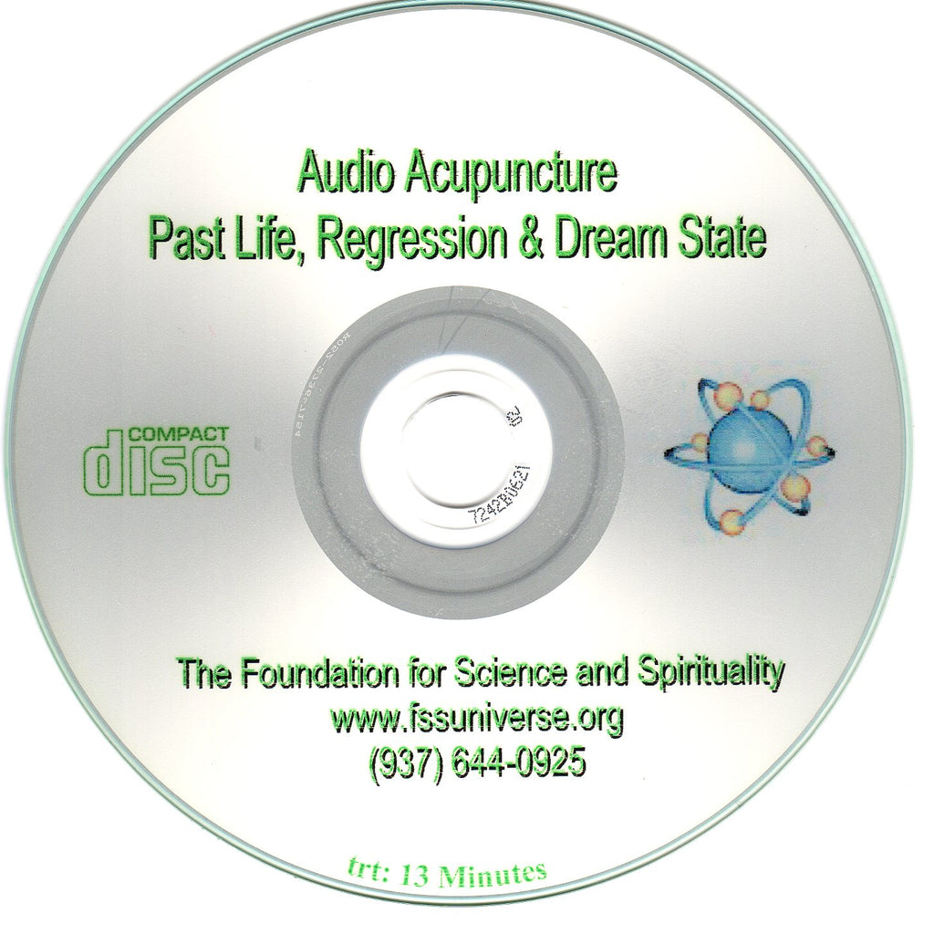 past life, regression and dream state energy audio CD