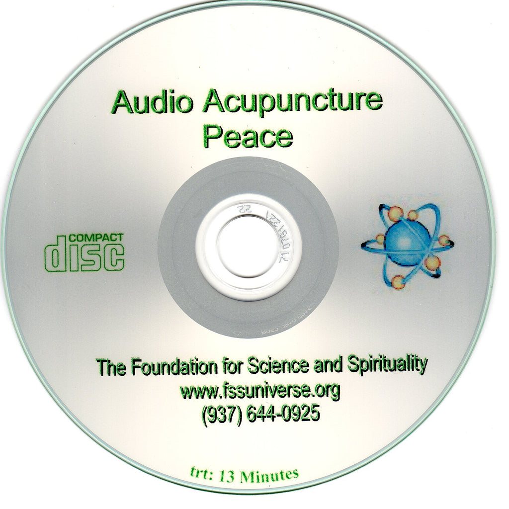 peace energy audio CD