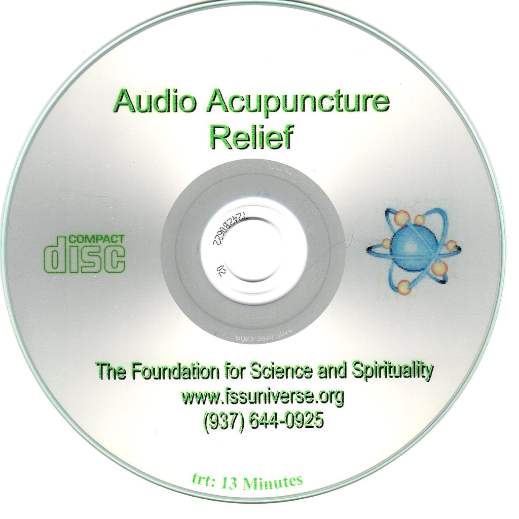 relief energy audio CD