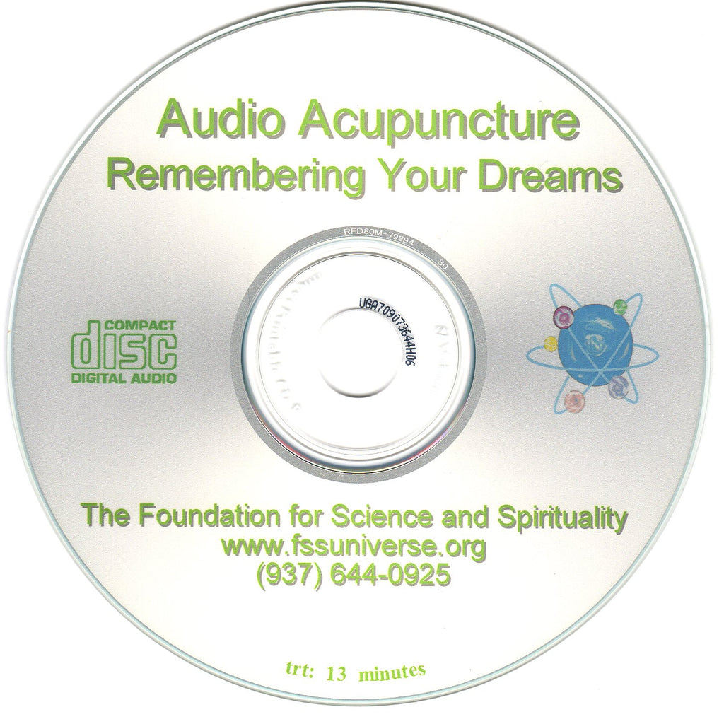 remembering your dreams energy audio CD