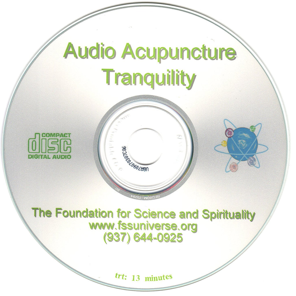 tranquility energy audio CD