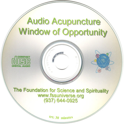 window of opportunity energy audio CD