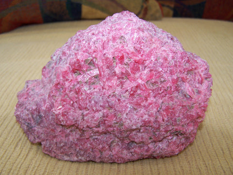Rhodonite Crystal - absolutely striking color. 3 lb
