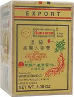Superior 4 Star Brand Concentrated Korean Ginseng Extract