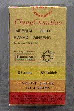 Imperial Wild Chinese Ginseng 80 Tablets
