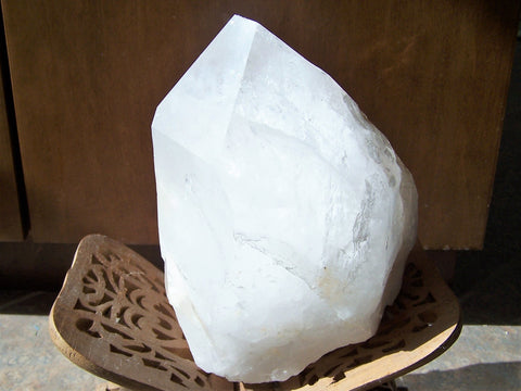 quartz large point