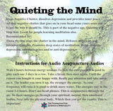 quieting the mind cd insert