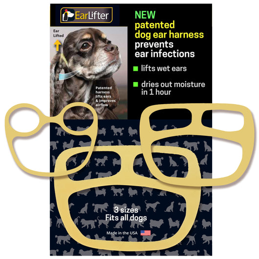 EarLifter Medical-Grade Latex Dog Ear Care Harness