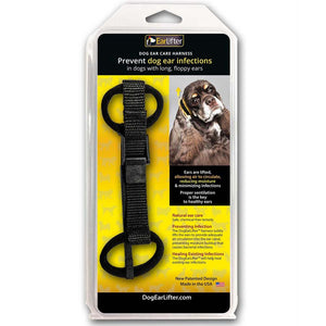 Black Nylon Webbing Dog EarLifter™