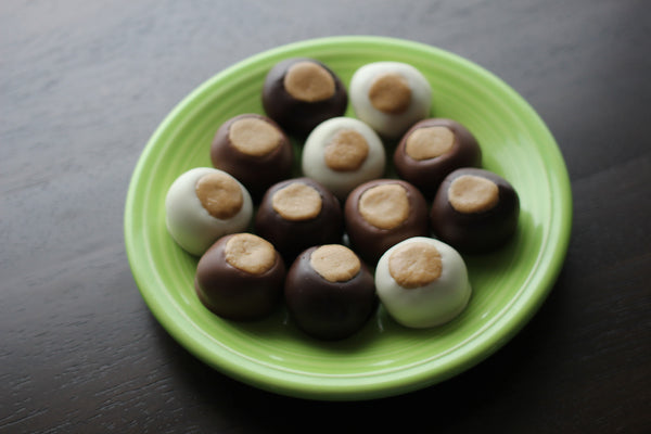 Buckeyes Mixed Variety - Handmade Chocolate Peanut Butter Candy