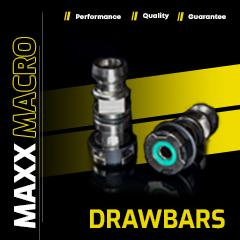 MaxxMacro HP Drawbars in acciaio inossidabile - MaxxPerformance