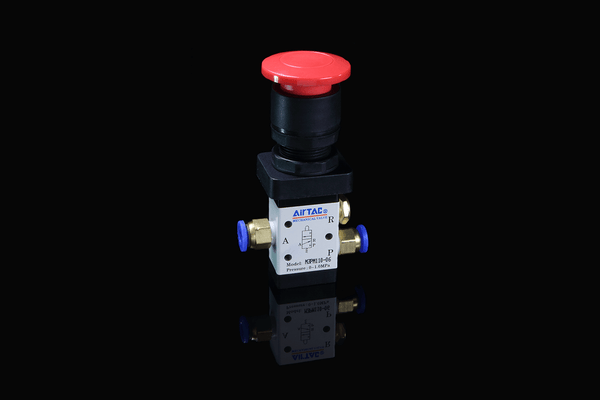Airtac M3 Series Button Activated Mechanical Air Switch