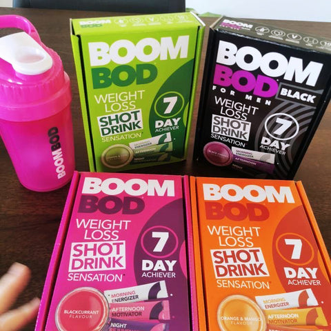 Boombod Giveaway Heather's Prize All Boombod Flavours