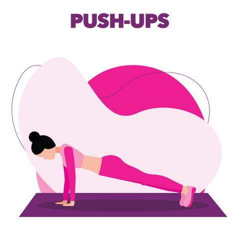 Boombod Push-Ups Exercise for weight loss
