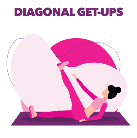Diagonal Get-Ups Exercise Boombod