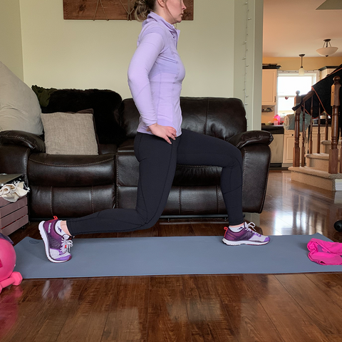 Boombod Jump Lunge Exercise For Weight Loss