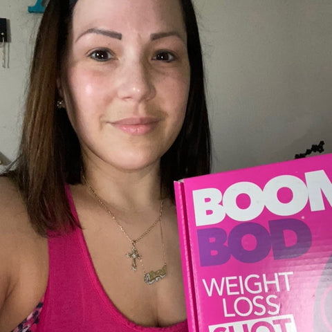 Athena and Boombod Weight Loss Shot Drink