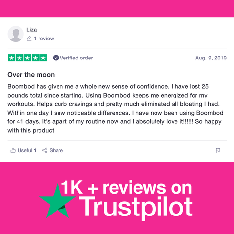Liza's Boombod Review On Trustpilot