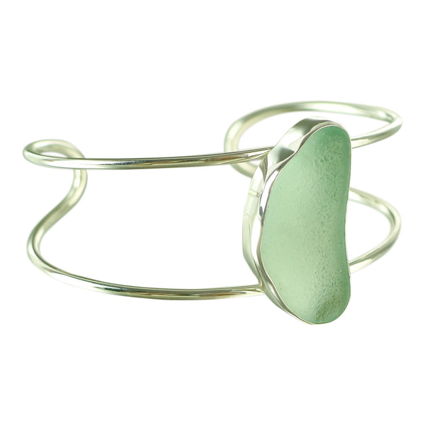 Oceano Seafoam Sea Glass Bracelet