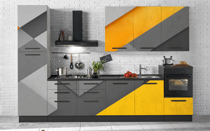Cucina Yellow Grey - Secretworlds