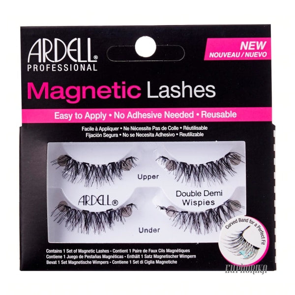 Ardell Magnetic Lashes Double Demi Wispies Eyes