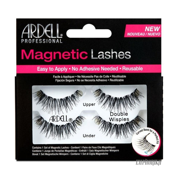 Ardell Magnetic Lashes Double Wispies Eyes