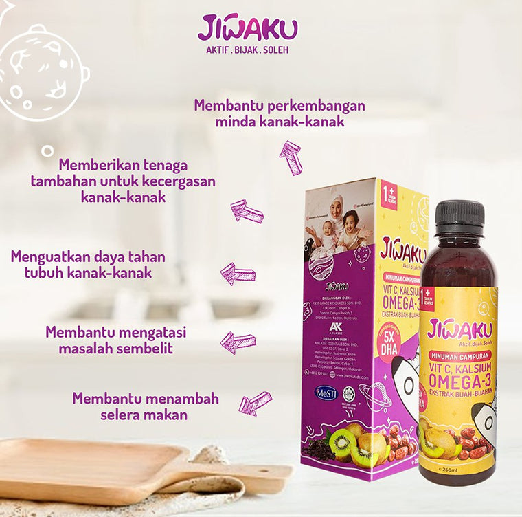 (LAUNCH SALE) Jiwaku Kids Vitamin