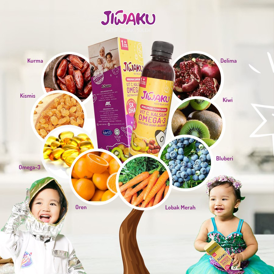 Jiiwaku Kids Supplement (not valid for customers)