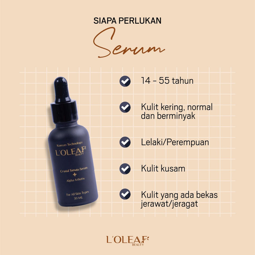 L'oleaf Beauty Crystal Serum (not valid for customers)