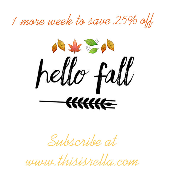 FALLing for Fall