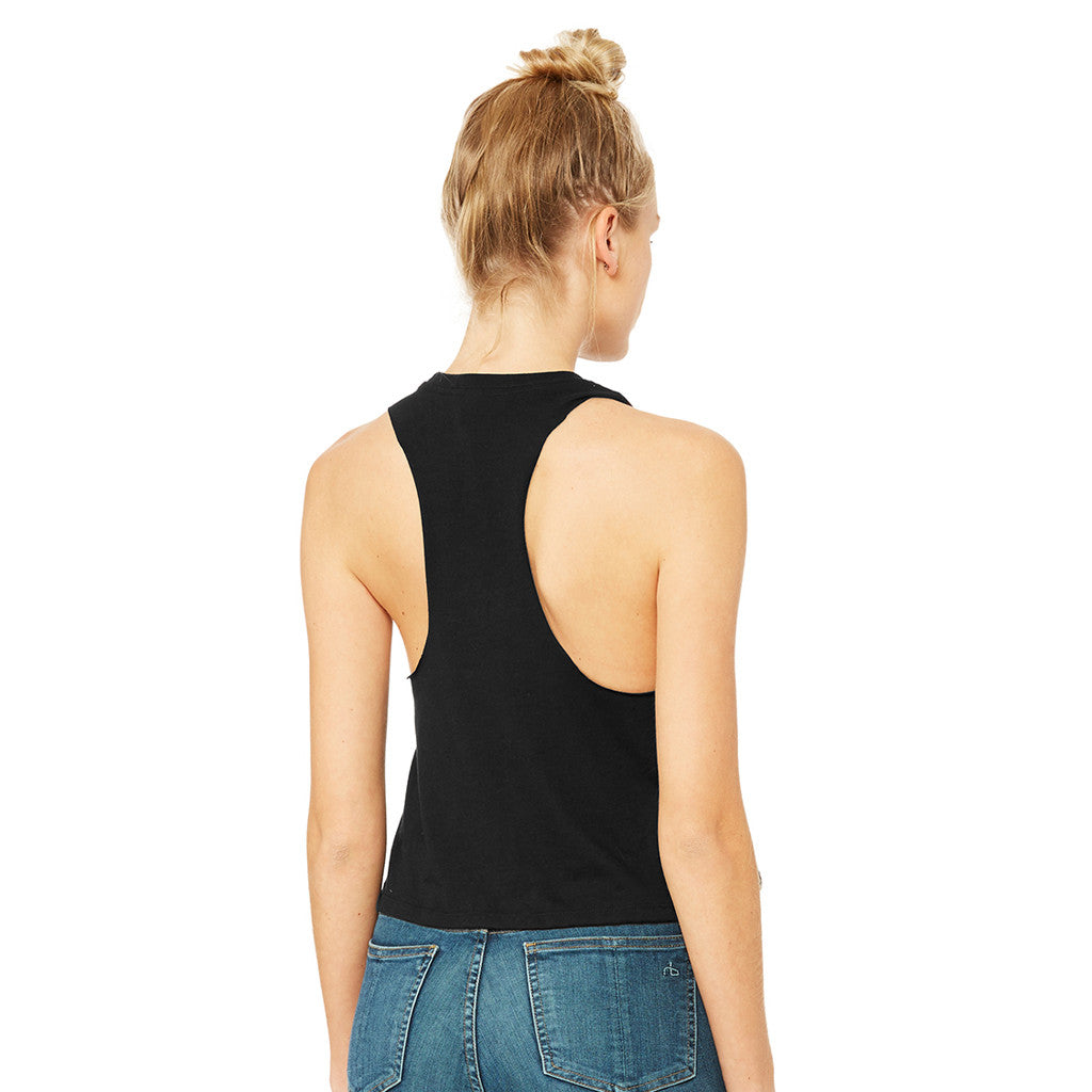 All Heart Racerback Cropped Tank