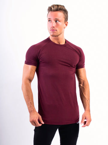 Fitness n' chill T-shirt Maroon