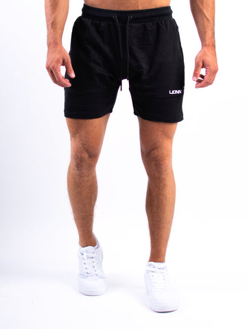 Lionn Fitted Shorts Black