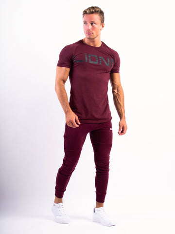 Statement T-shirt Maroon