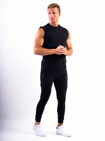 Lionn Sleeveless T-shirt Black