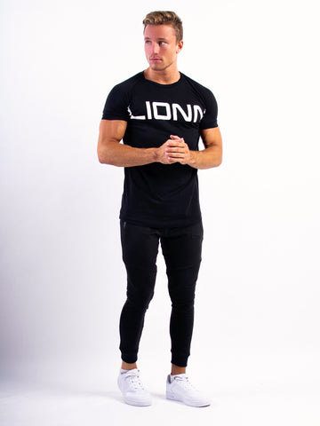 Lionn Statement T-shirt Black