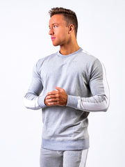 Lionn Side Panel Sweatshirt Light Grey
