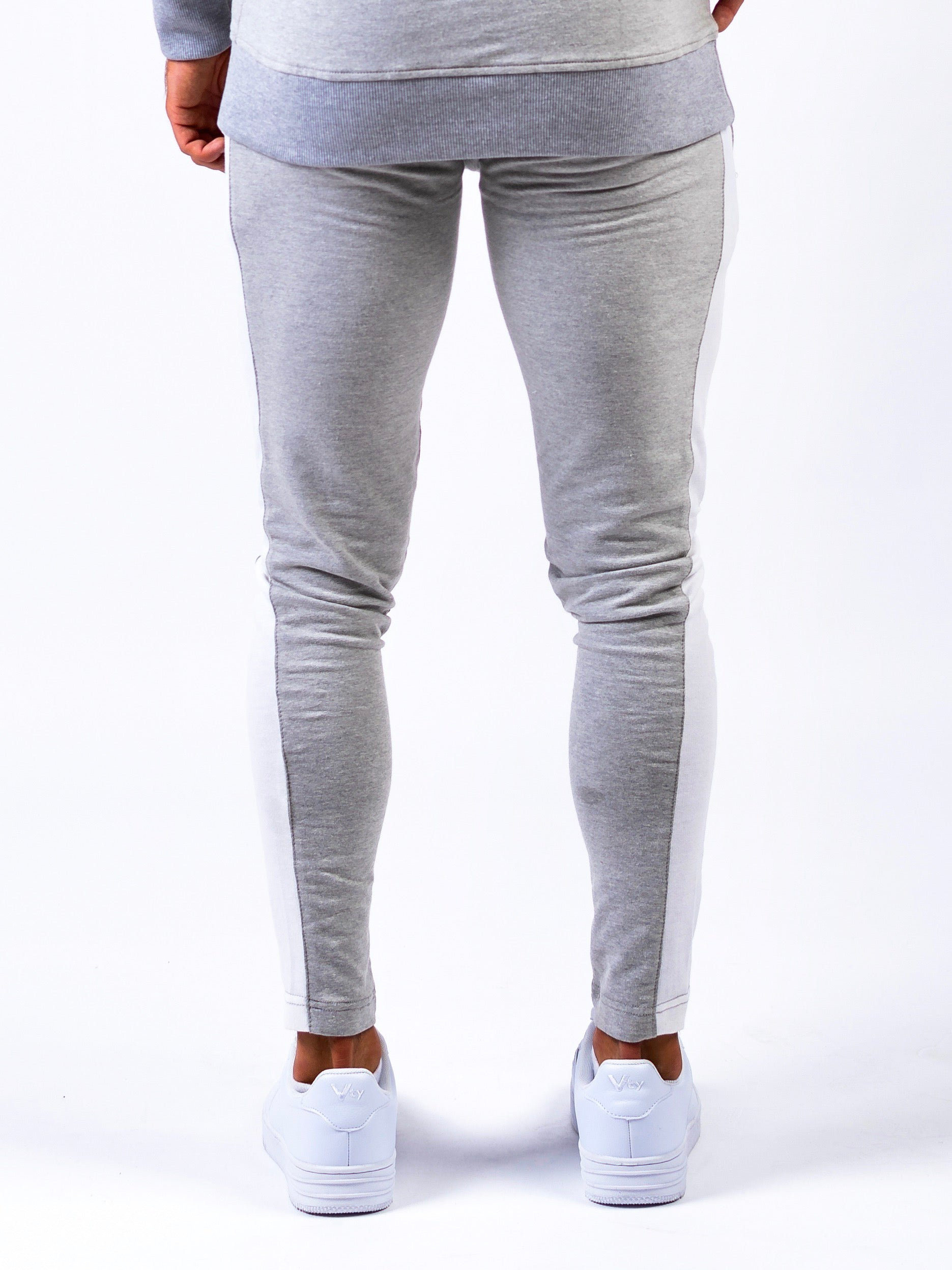 Lionn Fitted Side Panel Bottoms Heather Grey