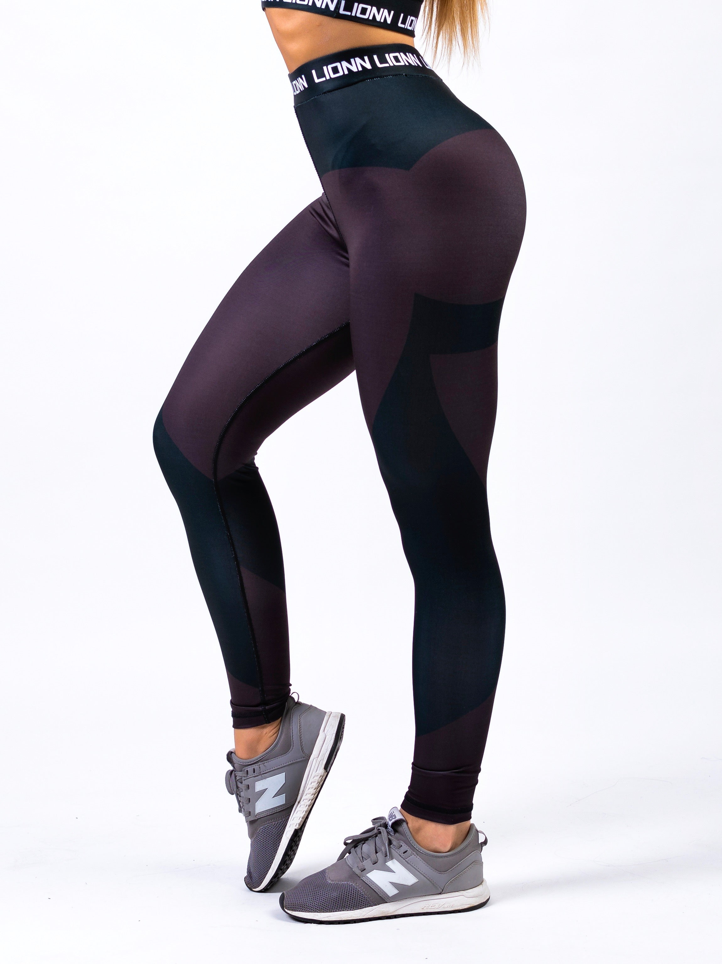 Lionn Contour Leggings Black